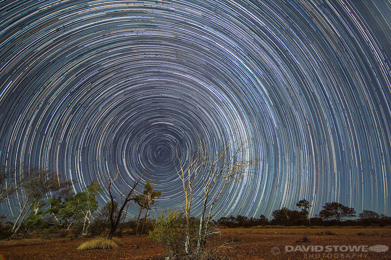 Star Trail ©David Stowe-