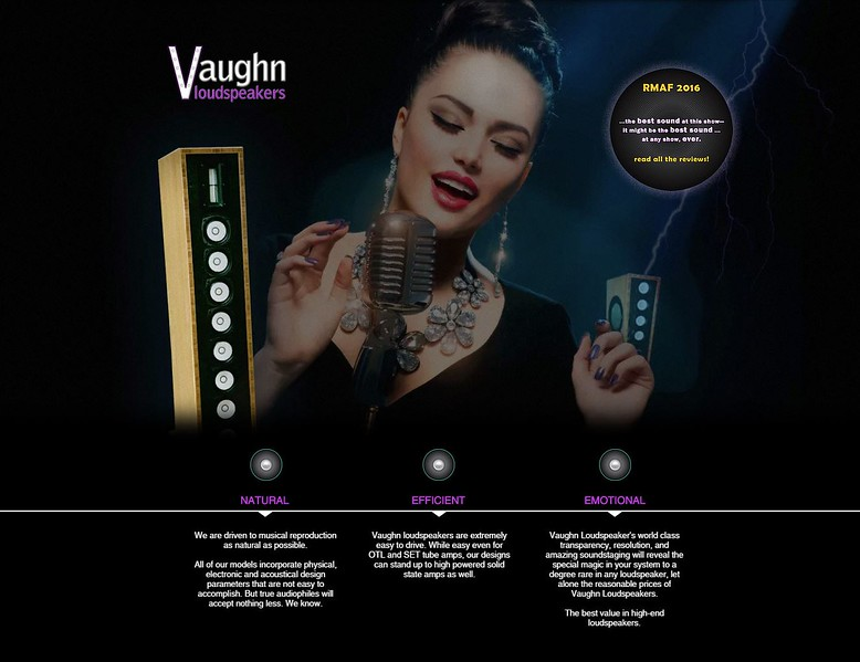see working site https://www.vaughnloudspeakers.com