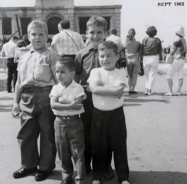 Zammitto boys (left) 1962