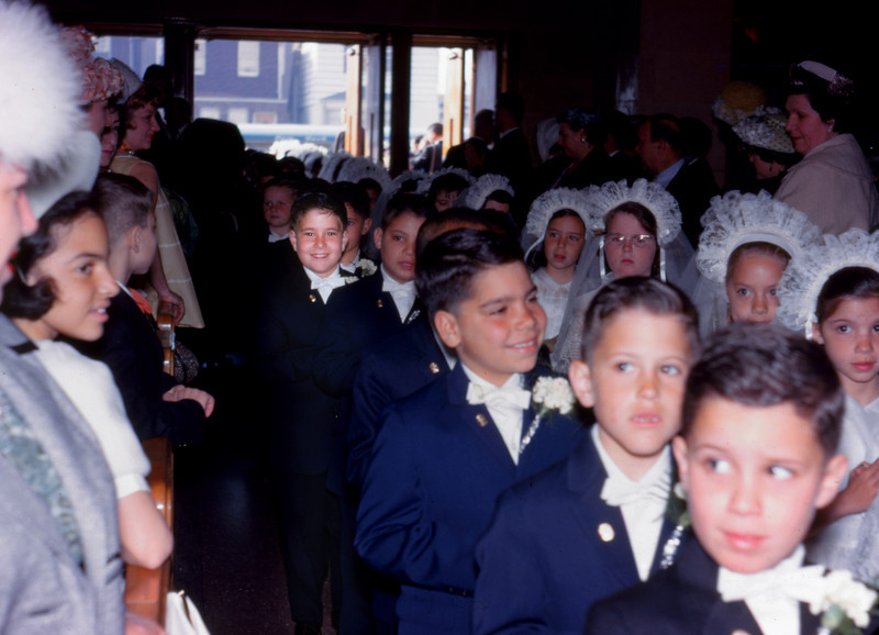 Charles Jr. in line for communion