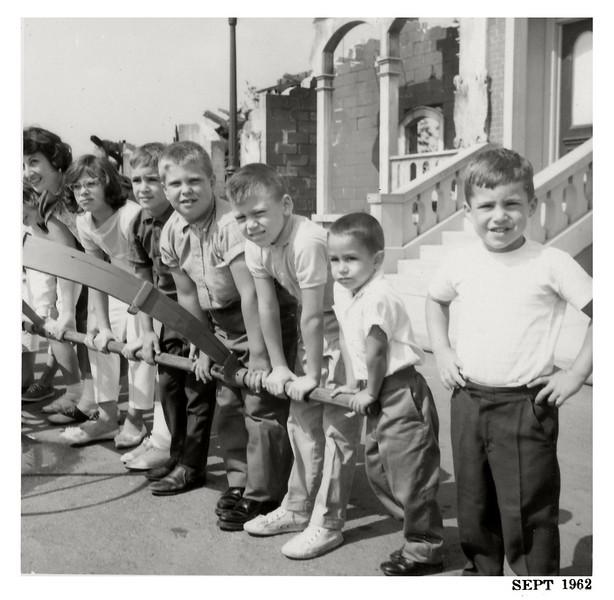Zammitto boys and friends 1962