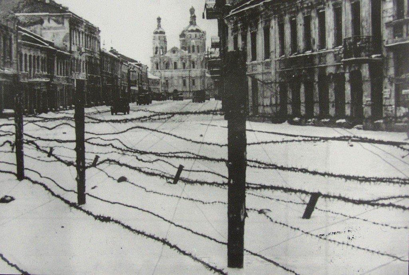 Vitebsk Belarus World War II Destruction.