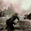Vitebsk Belarus World War II Destruction. See The Granade In This German Troop's Right Hand!