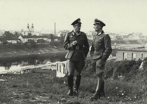 Vitebsk Belarus War Photos. WWII Occupation.