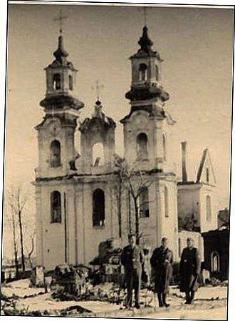 Vitebsk Belarus World War II Destruction. This Church Has Been Restored. Another Beautiful Russian Orthodox Church In Vitebsk.