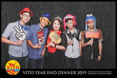Vito Year End Dinner 2019 | © www.SRSLYPhotobooth.sg