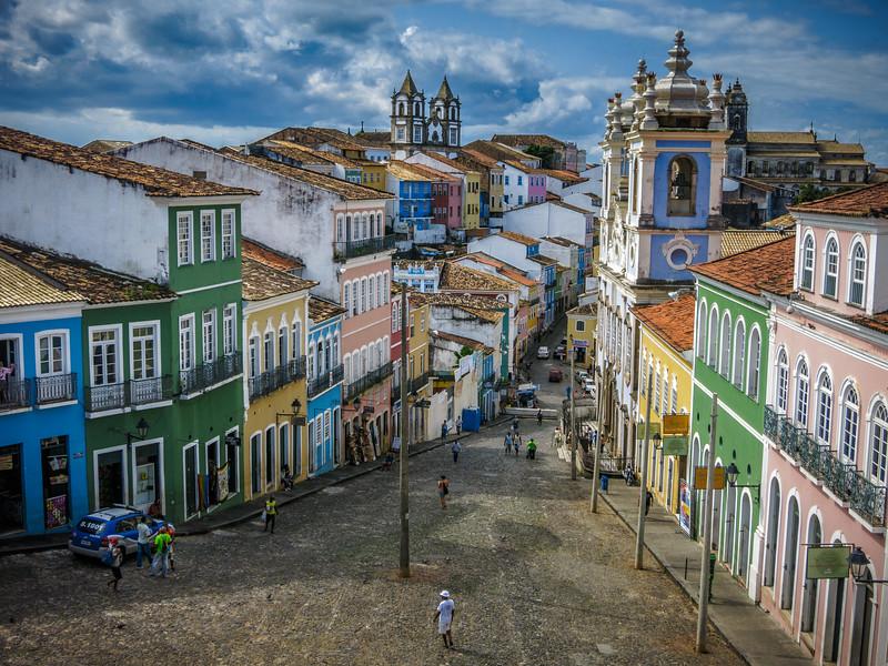 The picturesque & legendary Largo do Pelourinho.