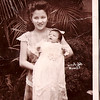 Nanay Norma and baby Annie