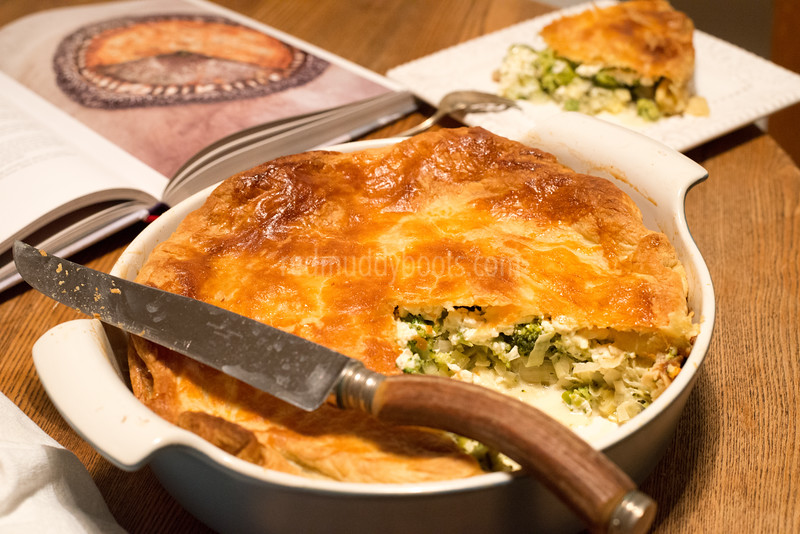 Broccoli and Feta Pie