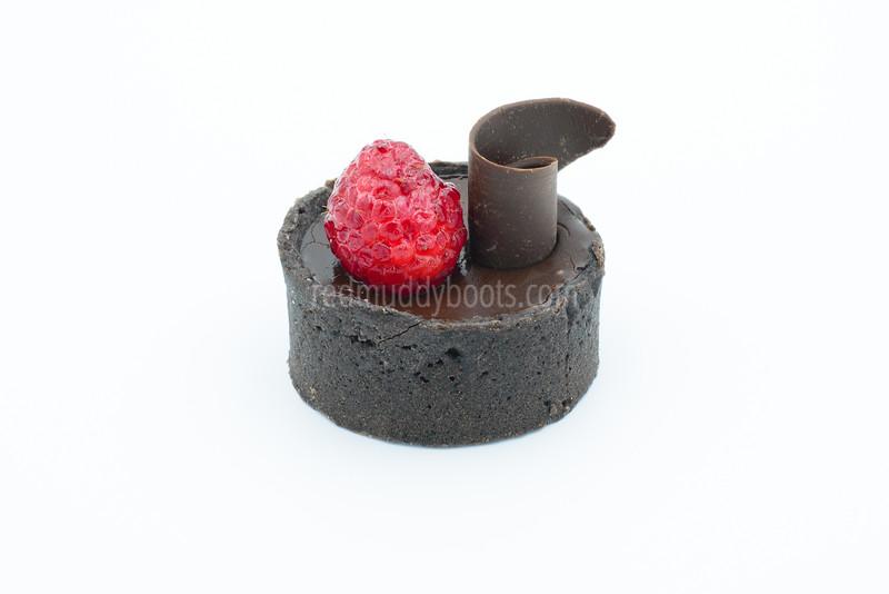 Chocolate - Raspberry Tart