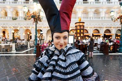 LAS VEGAS Venetian Hotel Streetmosphere (1)