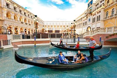 LAS VEGAS Venetian Hotel The Canals (3)
