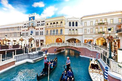 LAS VEGAS Venetian Hotel The Canals (2)