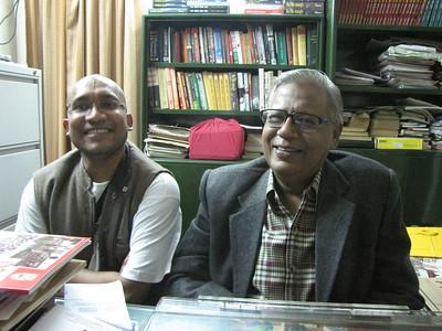 Vivek Umrao (L) Vishwa Ranjan (R)