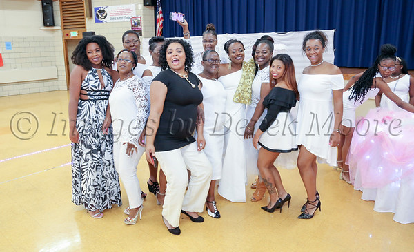 Vivian Okai's All White 40th Birthday Party