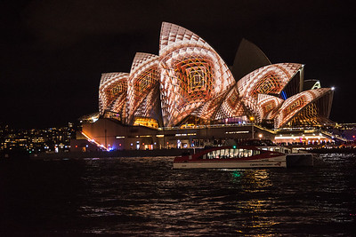 Vivid at the Sydney Opera House