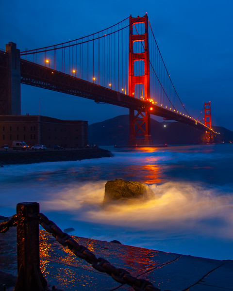 Stormy Golden Gate
