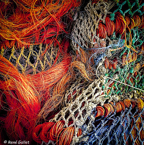 Tangled Nets of Color 2