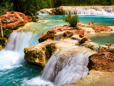 Blue Green Waters of Havasupai