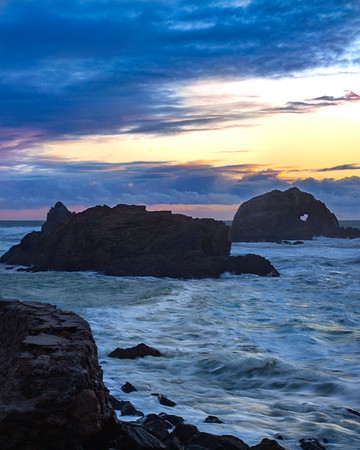 Sutro Baths Sunset, San Francisco