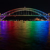 Sydney Harbour Bridge, Vivid Sydney 2013
