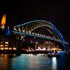 Bridge Turning Blue