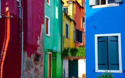 Multicolored Houses, Burano