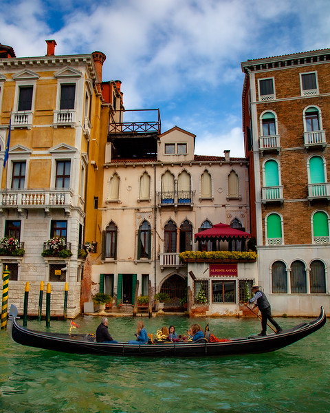 Gondola Ride down the Grand Canal