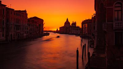 Basilica Sunrise on the Grand Canal