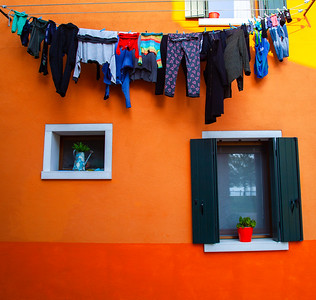 Hanging Laundry, Venice