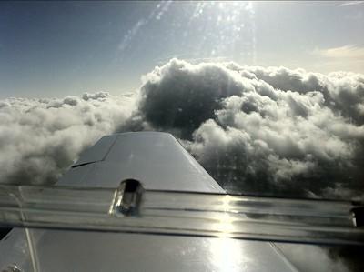 spelen met de wolken