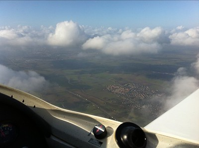 uitzicht met vliegen