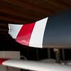 De kromme punt van het propellerblad