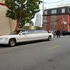 Een groep japanners kwam in een limo even de Lombard street bekijken