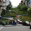 Lombard Street van onderaf