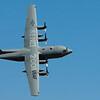 Demo van militair vliegtuig