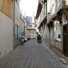 Troyes: Straatje van ons hotel