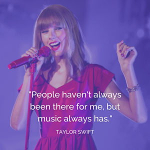 Taylor swift quote (Instagram Post)