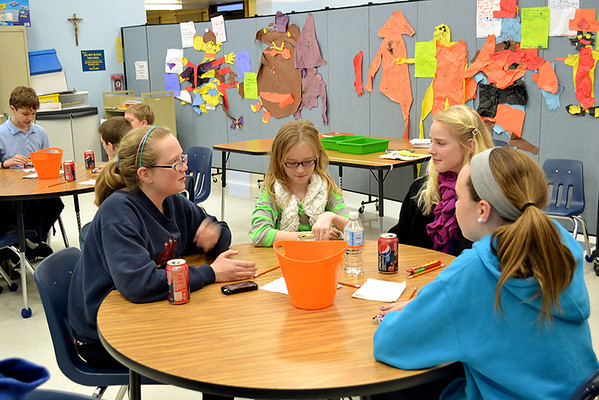 Program introduces Mother Teresa students to vocations