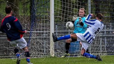 04-01-2020: Voetbal: Penaltybokaal Schoonhoven: Schoonhoven