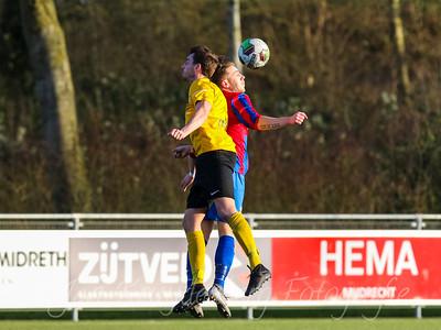 01-02-2020: Voetbal: CSW v DVVA: Wilnis ZATERDAG 2E KLASSE A