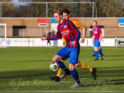 01-02-2020: Voetbal: CSW v DVVA: Wilnis ZATERDAG 2E KLASSE A #6 Dennis Prange van CSW