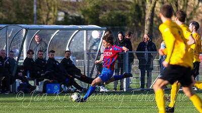 01-02-2020: Voetbal: CSW v DVVA: Wilnis ZATERDAG 2E KLASSE A #3 Jelle van der Bosch van CSW