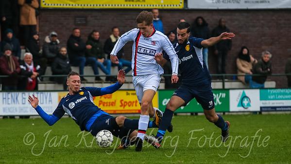 22-02-2020: Voetbal: DHSC v Fortuna Wormerveer: Utrecht