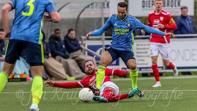 29-02-2020: Voetbal: Sportlust 46 v SC Feyenoord: Woerden
