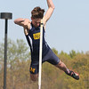 "PHN Timmy Hunt goes for 13''6""  - Marysville hosted a track meet."