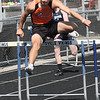 110 high hurtles, Marine City Jacob Zweng  - Marysville hosted a track meet.