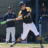 PHN #7 Nick Trimble gets a hit  - Port Huron Northern hosted Cousino for Baseball. April 8th, 2017 (MIPrepzone photo gallery by David Angell)