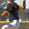 PHN pitcher#7 Nick Trimble  - Port Huron Northern hosted Cousino for Baseball. April 8th, 2017 (MIPrepzone photo gallery by David Angell)