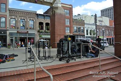 Sound Setup on the Main Stage